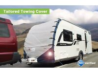 Caravan Towing Cover made by Protec for Unicorn Series II tailored