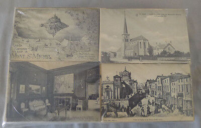 Original Lot of 650 +  Antique 1910's France Postcards