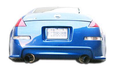 03-08 Fits Nissan 350Z Drifter 2 Duraflex Rear Body Kit Bumper!!! 100492