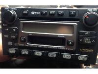 Lexus car stereo