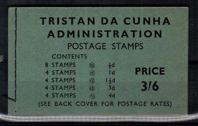 Tristan da Cunha SG SB3 booklet Mint NH (Scott 28a // 34a)