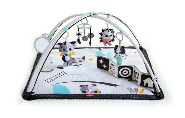Tiny Love Black & White Gymini Deluxe Infant Activity Play Mat With Book,