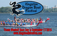 Teams Wanted for Kingston Dragon Boat Festival