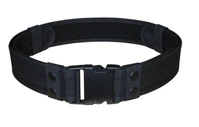 Black Duty Belt Tactical Police Emt Security Swat Utility Holster Size 28-46