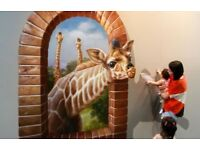 3D Wall ART Design Painter plus Decorations and Renovation Specialist