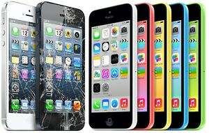 iPhone 4S, 5 5S 5C 6 6+ 6S 6s+ 7 Glass and touch LCD Repairs !!