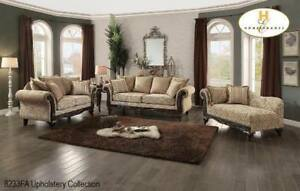 Show Wood 3 PC Traditional Sofa Set on Sale (BD-2416)