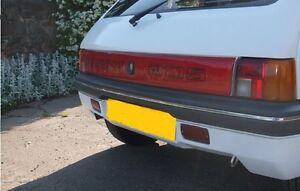Original Peugeot 205 Gti Cti Reflective Tailgate New old stock - part 9409622200