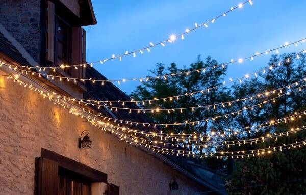 Patio Fairy Lights For Garden Or Terrace