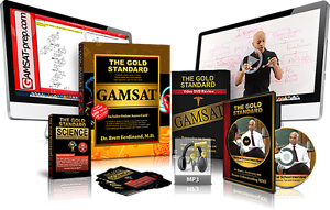 Gold Standard GAMSAT Prep Textbook, 6 DVDs, CD, Flashcard Booklet Aitkenvale Townsville City Preview