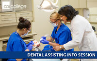 Dental Assisting Info Session – May 4 @ 6pm at Victoria Campus