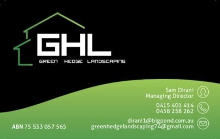 GREEN HEDGE LANDSCAPING