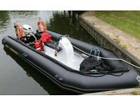 Excel 535 inflatable looking for a swap for a rib