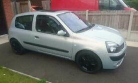Renault Clio 1.2, not golf, Astra, van etc