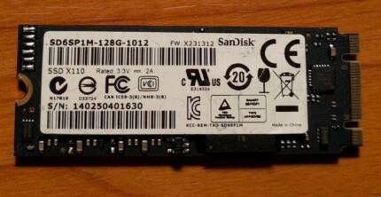 Dell SanDisk X110 128GB SSD NGFF M.2 2260 SATA III 6Gbps SSD