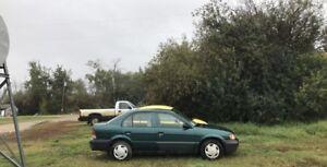 1998 Toyota tercel sedan