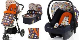 Cosatto Giggle Pram and accessories