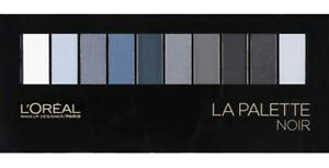 La palette noir de l'Oreal eyes shadow