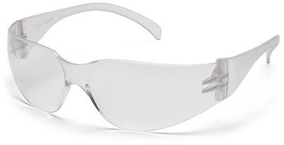 12 Pair 1700 Series Clear Lens Safety Glasses