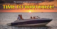 BOOK A SAME DAY WINTERIZE AND SAVE 10%