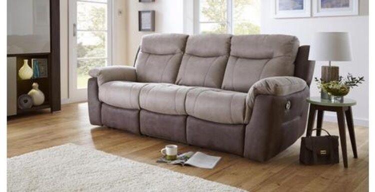 DFS fabric Logan arizona recliner 3 seater sofa and armchair & DFS fabric Logan arizona recliner 3 seater sofa and armchair | in ... islam-shia.org