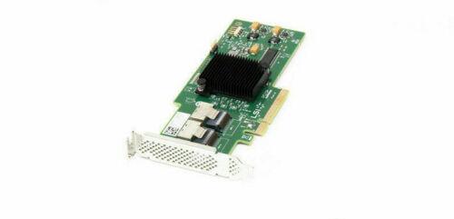 USED W8J8X SAS9210-8I DELL PERC H200 SAS 6GB/S PCIE RAID CONTROLLER CARD LP