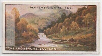 The Trossachs Woodland Glen Stirling Scotland 100+ Y/O Trade Ad Card