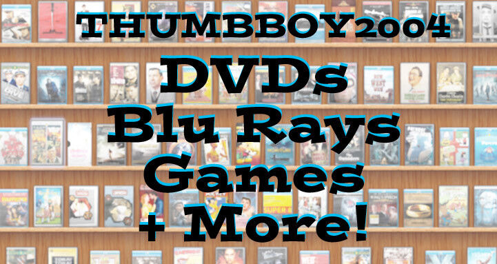 == Blu Rays, DVD Movies & Games! ==