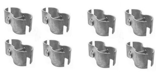 """8 Chain Link Fence Panel Clamp Sets 1-3/8"""" ~ New ~ Fast Shipping"""