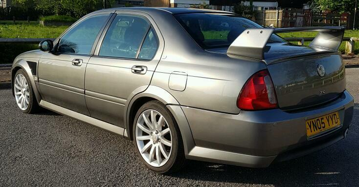 Mg Zs 180 2 5 V6 05 Plate In X Grey