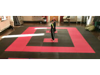 25 x 40mm Jigsaw Mats 1m2 Best UK Prices, FREE 24hr Delivery, For Taekwondo, Kickboxing, Karate, MMA