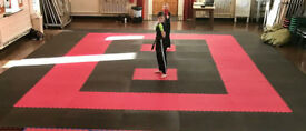36 x 40mm Jigsaw Mats 1m2 Best UK Prices, FREE 24hr Delivery, For Taekwondo, Kickboxing, Karate, MMA