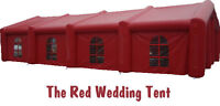 The Rose Red Wedding Tent