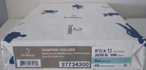 New Packages Of Domtar Multipurpose Coloured Paper