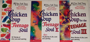 Chicken Soup for the Teenage Soul I, II, II 3 Books in Box Set London Ontario image 1