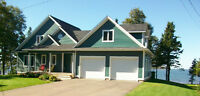 Absolutely Gorgeous Oceanfront Home/Schurmans Point/PEI $629,000