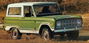 Wanted: 1966-1977 Ford Bronco