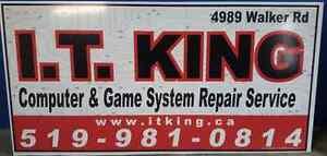 I.T. King: PS4, PS3, Xbox360, Xbox one, Wii, WiiU repair service