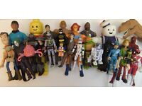 TOYS WANTED action figures star wars LEGO ghostbusters thundercats he man thunderbirds OLD OR NEW