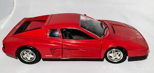 1/18 Diecast - Ferrari Testarossa, Hot Wheels