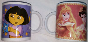 4 Disney Princess Coffee Cup / Mug London Ontario image 2