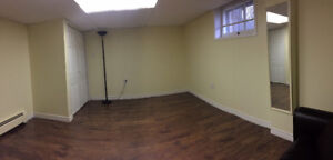 2 bedroom basement apartment with separate entrance