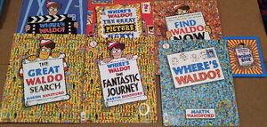 Where's Waldo - Awesome set of Where's Waldo Books