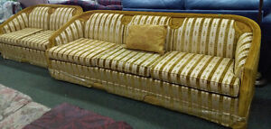 Vintage Couch Set on Sale at Habitat for Humanity!