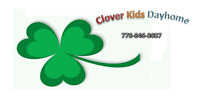 Clover Kids Dayhome has Openings!