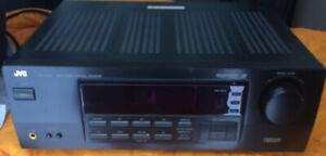 JVC RX-5000VBK - AV receiver - 5.1 channel + 5 Disc CD Player