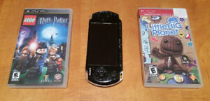 PSP 3001 Playstation Portable with Games