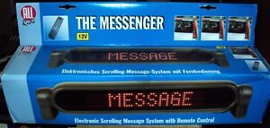 12V LED Message Sign Scrolling system board w remote control