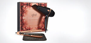 GHD Deluxe Dryer & Style Copper luxe Gift Set,