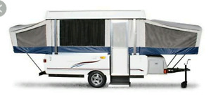 ISO tent trailer
